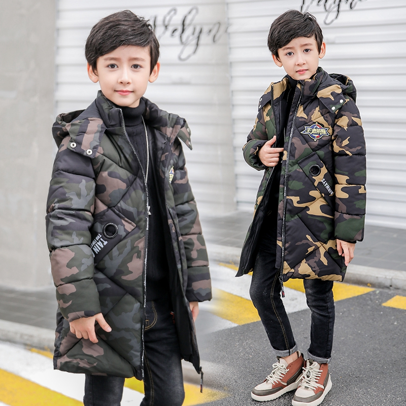 7d55c3efc Falow ji pu military style winter army s thickness long parkas coat ...