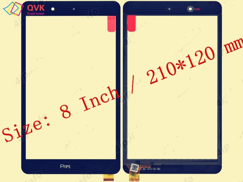 Black for Prestigio multipad muze 5008 3g PMT5008_3G PMT5018 tablet pc capacitive touch screen glass digitizer panel prestigio muze a5 5502 gold