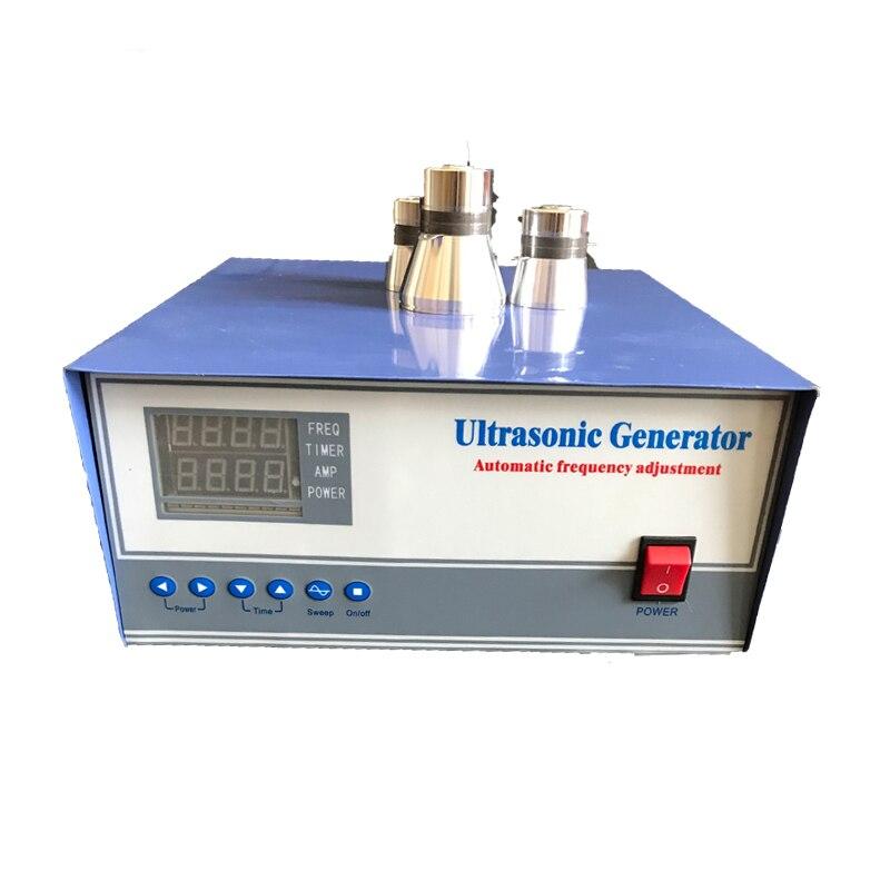1200W Ultrasonic power supply with CE industry ultrasound power cleaning generator 20khz 33khz 28khz 40khz