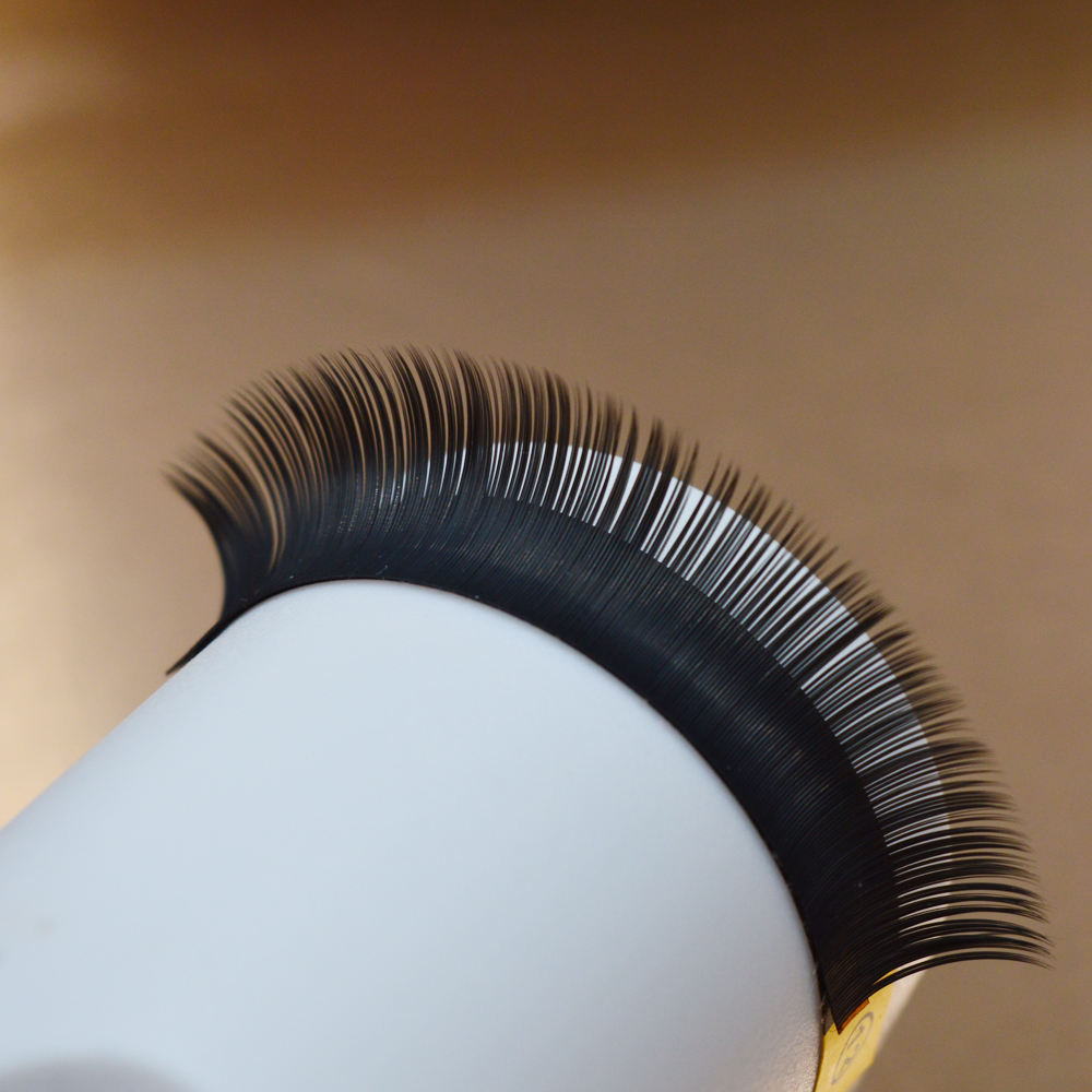 1 trays/Lot, Ellipse Flat False Eyelash Extensions Soft Thin Tip Flat Roots New Products Saving Time Recommended by Technicians