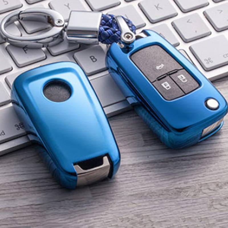 2019 Soft TPU Key Cover Case For Chevrolet For Buick For Cruze Aveo Trax Opel Astra Corsa Meriva Zafira Antara J Key Protection
