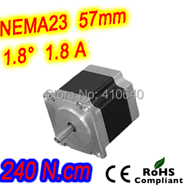 5 pieces per lot high torque step motor 23HS41-1804S L 104 mm Nema 23 with 1.8 deg 1.8 A 240 N.cm and bipolar 4 lead wires 5 pieces per lot stepper motor 34hs31 5504s l 80 mm nema 34 with 1 8 deg current 5 5 a torque 4 5 n cm and 4 wires