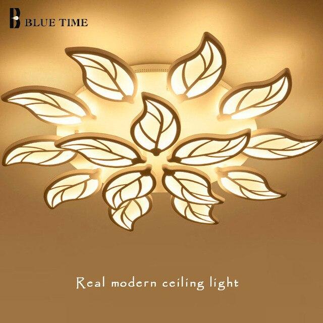 Real Modern Led Chandelier Lights Acrylic For Living Room Bedroom Dinning Room Indoor Home Led Lighting Fixtures AC90-260V 220V