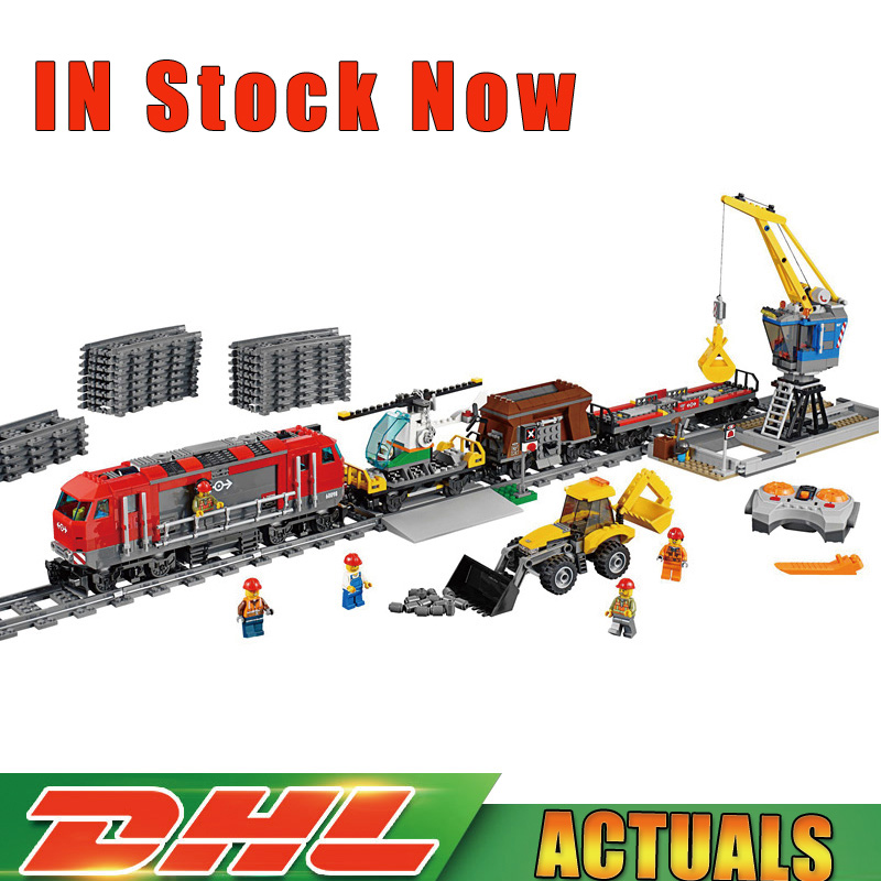Lepin 02009 1033pcs City Engineering Remote Control RC Train Model Building Block Toys Compatible Legoings 60098 lepin 02009 1033pcs city engineering remote control rc train building block compatible 60098 brick toy