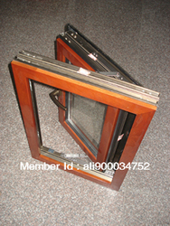 High-end Wood-aluminum window  For Residence Villas / Apartment, size 500*600 ( W* H)
