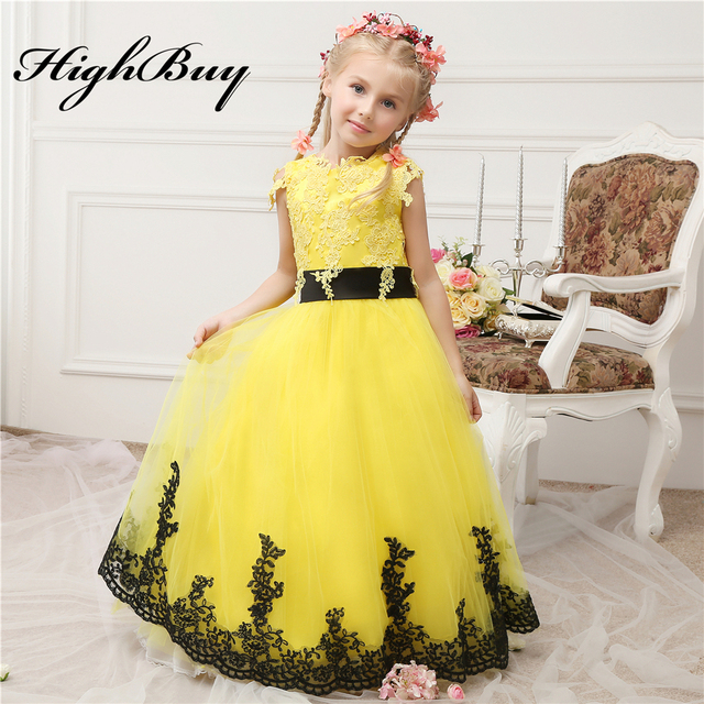 Aliexpress.com : Buy HighBuy 2017 Bright Yellow New Arrival Lace ...