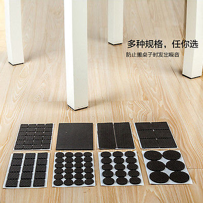 Hot New Anti Skid Furniture Protection Pads Rubber Self Adhesive Scratch Protector LF