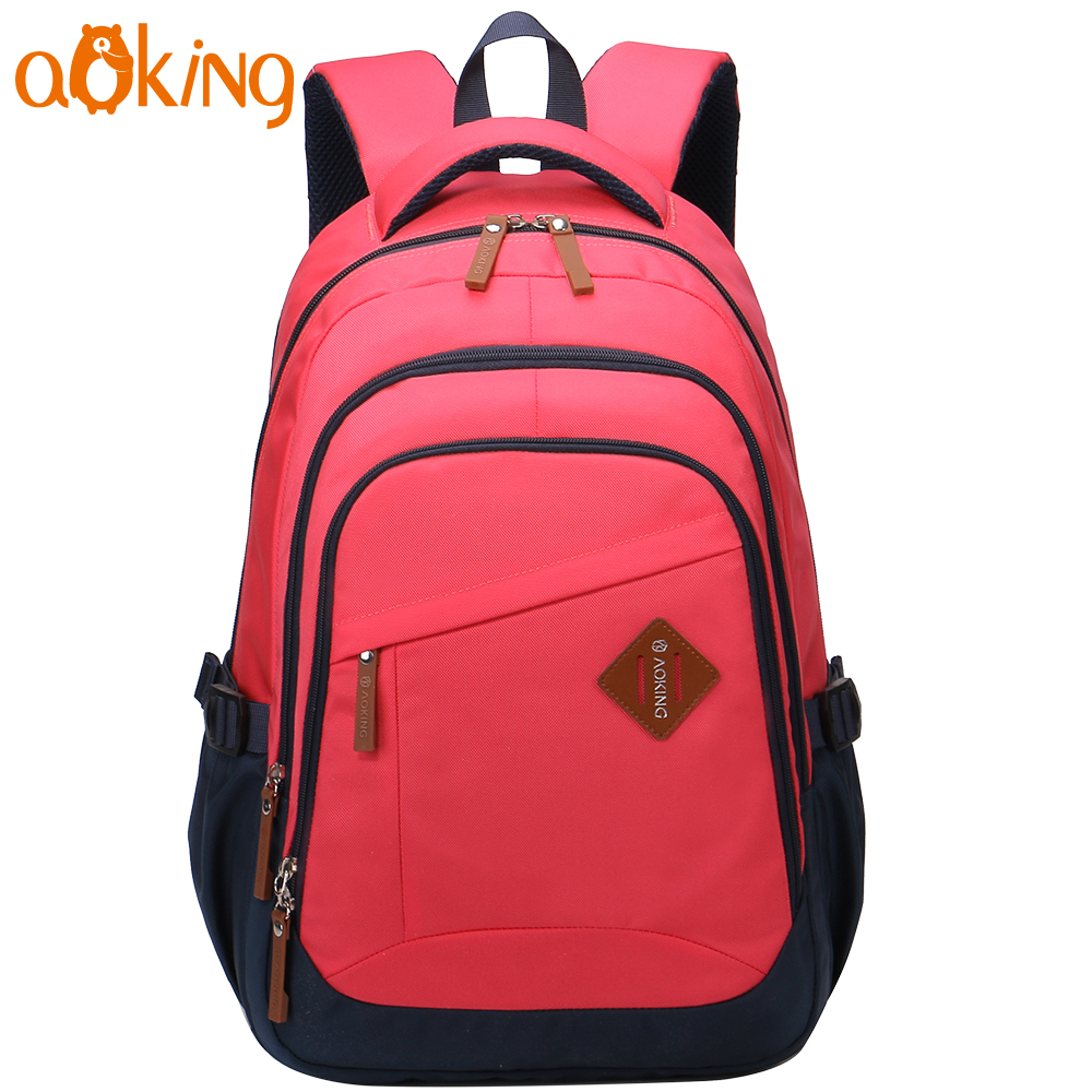 Aoking Travel Leisure College Students School Backpack Large Capacity  Journey Waterproof Nylon Backpack Shoulders Backpack 1bdf8162b86fe