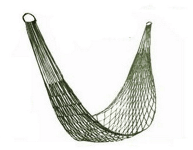 Outdoor hammock Mesh hammock anti-rollove hammockBedroom swing Lazy chair travel furniture parachute hammocks