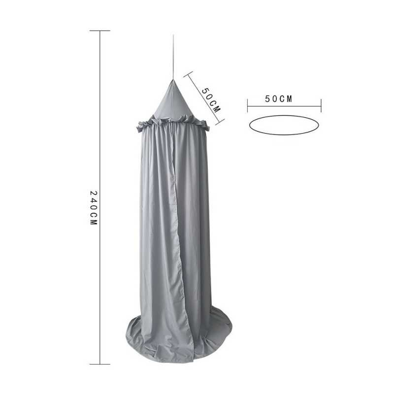 Laciness Tencel Baby Bedside Decoration Mosquito Net bed Canopy decorating Children Princess Room Mosquito Net Home Textiles