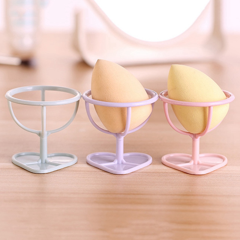 Beauty & Health Lovely 1pc New 4 Color Makeup Sponge Gourd Powder Puff Rack Powder Puff Bracket Box Dryer Organizer Beauty Shelf Holder Tool Cosmetic Puff