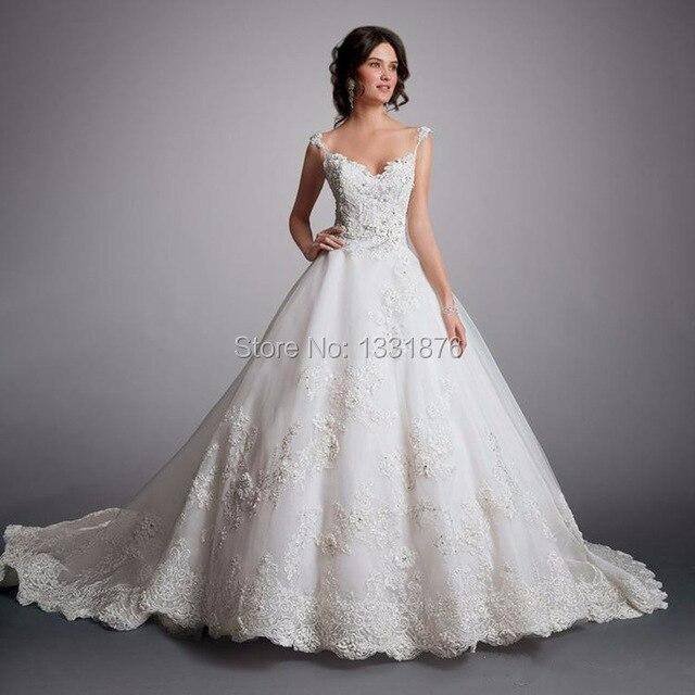 sexy robe de mariage coren 2017 nouvelle arrive de luxe dentelle fleurs chrie vintage robes de - Aliexpress Mariage