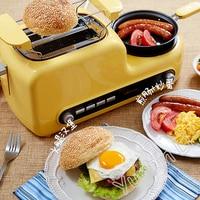 Hause Frühstück Maschine Sandwich Maschine Muiti-Funktionale Toaster Brot Backen Maschine Ei Herd Speck Braten Maschine DSL-A02Z1