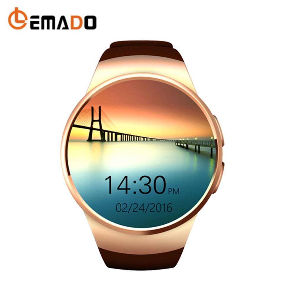 Lemade KW18 Smart Watch Bluetooth SmartWatch Support SIM Card Sports Men Heart Rate Monitoring цена