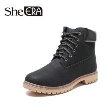 Autumn Winter Work Boots Durable Wear Martin Tooling Labor Insurance Shoes Small Yellow Breathable