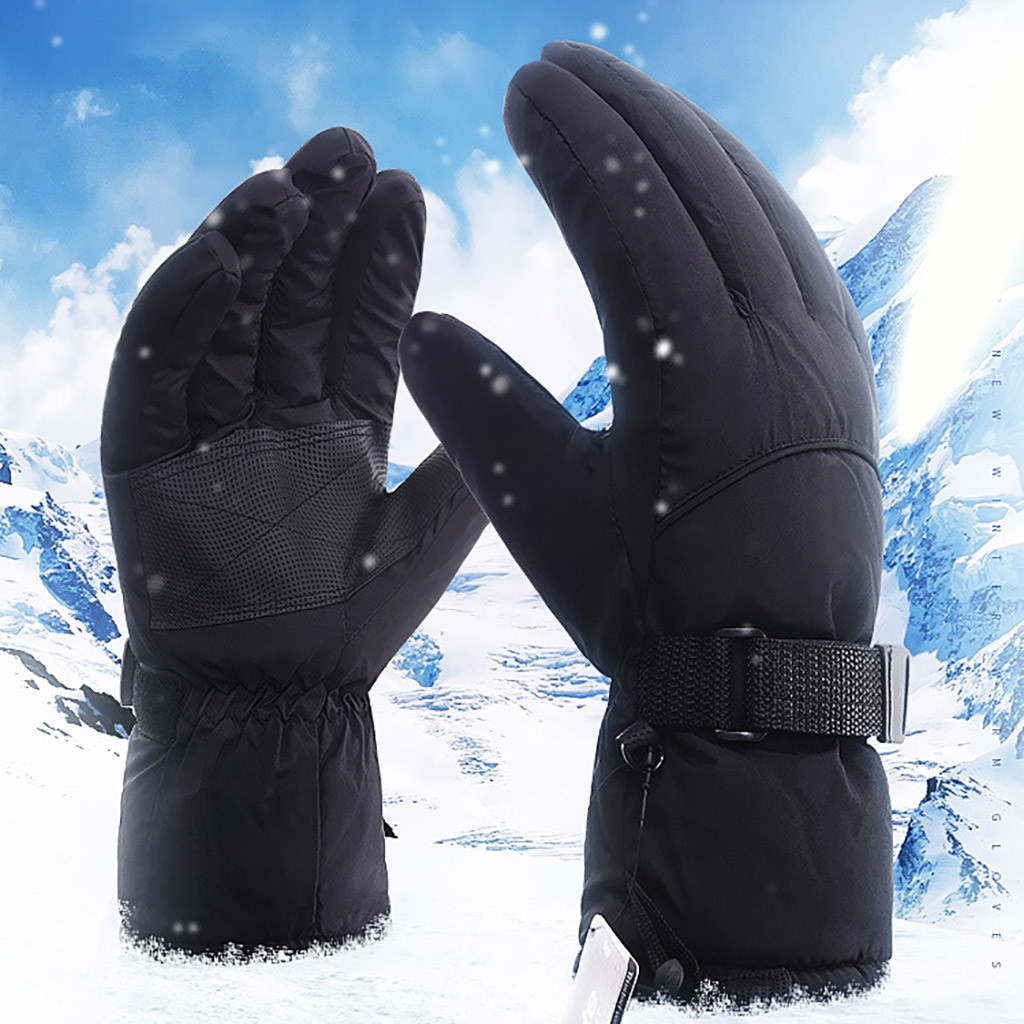 Winter New Gloves Outdoor Sport Warm Anti-slip Snow Snowmobile Snowboard Warm Gloves High Quality Waterproof High Quality Gloves