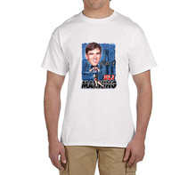 2017 Giants Eli Manning Caricature Cartoon t shirts Mens Number 13 Funny T-shirts 0208-3