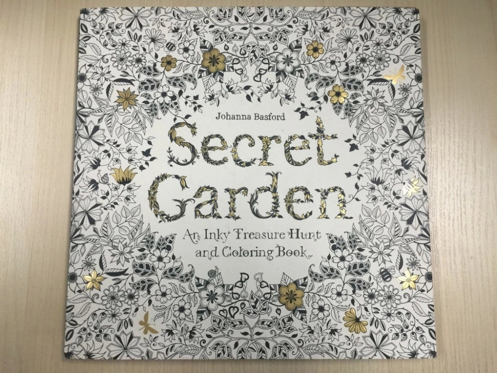 Secret Garden An Inky Coloring Books For Children Adults Stress Relief Kill Time Treasure Hunt Graffiti Painting Drawing Book In Toys From