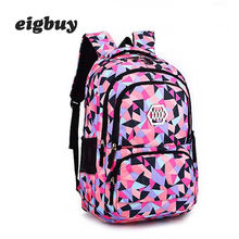 Girl School Bag Waterproof Light Weight Girls Kids Backpack Bags Printing Backpack Child Backpacks For Children Adolescent Girl backpack for girls 3 pieces school bags mochilas escolares infantis backpacks for adolescent girl butterfly children s backpacks