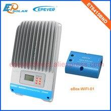 ET6415BND 60A 60amp Epsolar MPPT Năng Lượng Mặt Trời Điều Chỉnh Với Chức Năng Wifi Cho Điện Thoại Di Động Sử Dụng