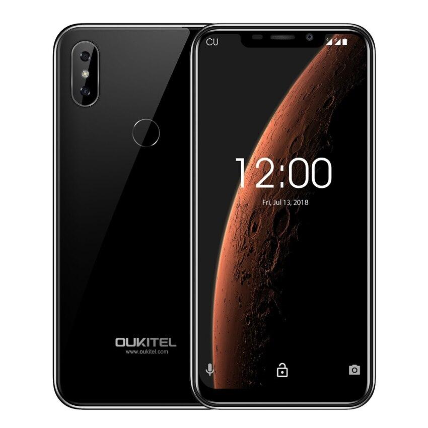 OUKITEL C13 Pro 5G/2.4G WIFI Android 9.0 téléphone portable 6.18