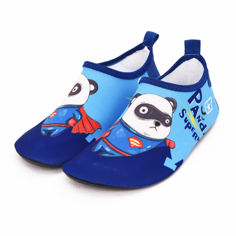 Kids Summer Slippers Children's Beach Shoes Non-slip Breathable Boys And Girls Baby Swimming Wading Shoes Indoor Soft Socks