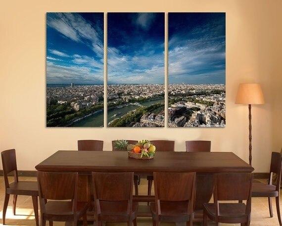En soldes Moderne Coloré Photo Image ville vue aérienne Room ...
