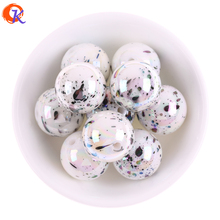 Cordial Design 12mm 16mm 20mm Acrylic Beads/Earring Findings/UV Polka Dot Effect Beads/Round Shape/Hand Made/Jewelry Accessories