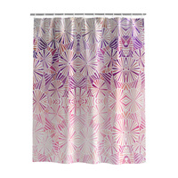 Shower Curtains Waterproof Polyester Eco friendly, Japanese Style,Pink and Purple Umbrella Series,Gradual Change Shower Curtains