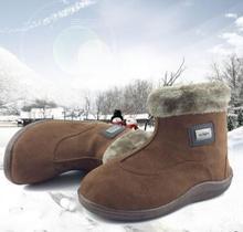 2016 new men's cotton velvet warm cotton boots