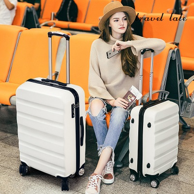Travel tale leisure high quality 20/24 PC business Rolling Luggage Spinner brand Travel Suitcase