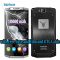 "Оригинал Oukitel K10000 10000mAh OTG 4G 5.5 ""HD IPS смартфон Android 6.0 Quad Core MT6735 сотовый телефон 2GB + 16GB 13 Мпикс Мобильный телефон"