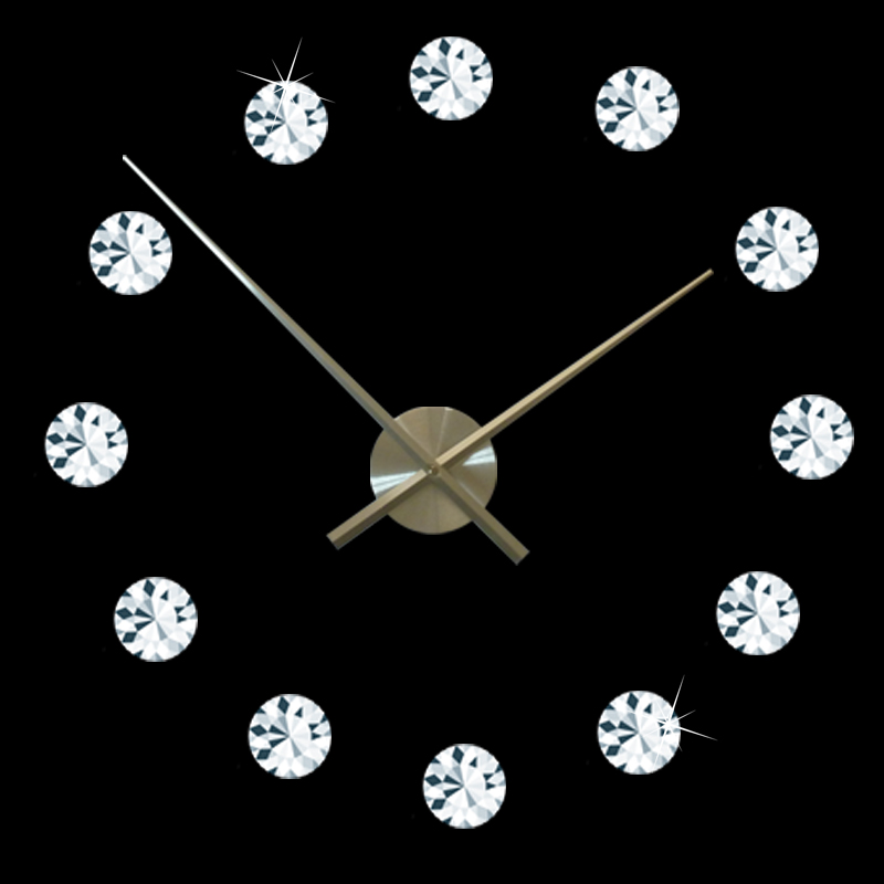 Online Buy Wholesale Crystal Wall Clock From China Crystal