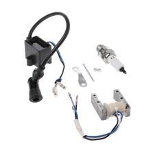 6V Ignition Magneto Stator CDI Ignition Coil Fit 66//80cc 2 Stroke Motorized Bike