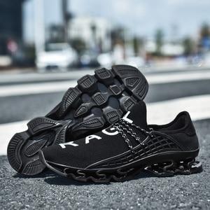 Image 4 - OZERSK trampki męskie buty na co dzień ostrze trampki amortyzacja odkryte buty sportowe lekkie trenerzy letnie Chaussures Pour Hommes