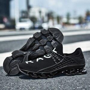 Image 4 - Ozersk tênis masculino sapatos casuais lâmina tênis de amortecimento sapatos esportivos ao ar livre luz formadores verão chaussures pour hommes