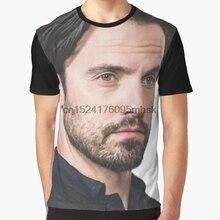 6b40d29fbabcc All Over Print Men t shirt Funny tshirt Hot Milo Ventimiglia Graphic Women T -Shirt