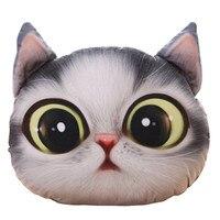 Cartoon Kreatywny Symulacji 3D Sowa Koty Meow Gwiazdkowe Poduszki Poduszki Wysłać Dziewczyny Prezenty Urodzinowe dla dzieci Zabawki Pluszowe Lalki 6 kolor