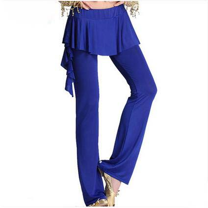 New Belly Dance Costumes Senior Milk Silk Lotus Leaf  Belly Dance Pants For Women Belly Dance Trousers