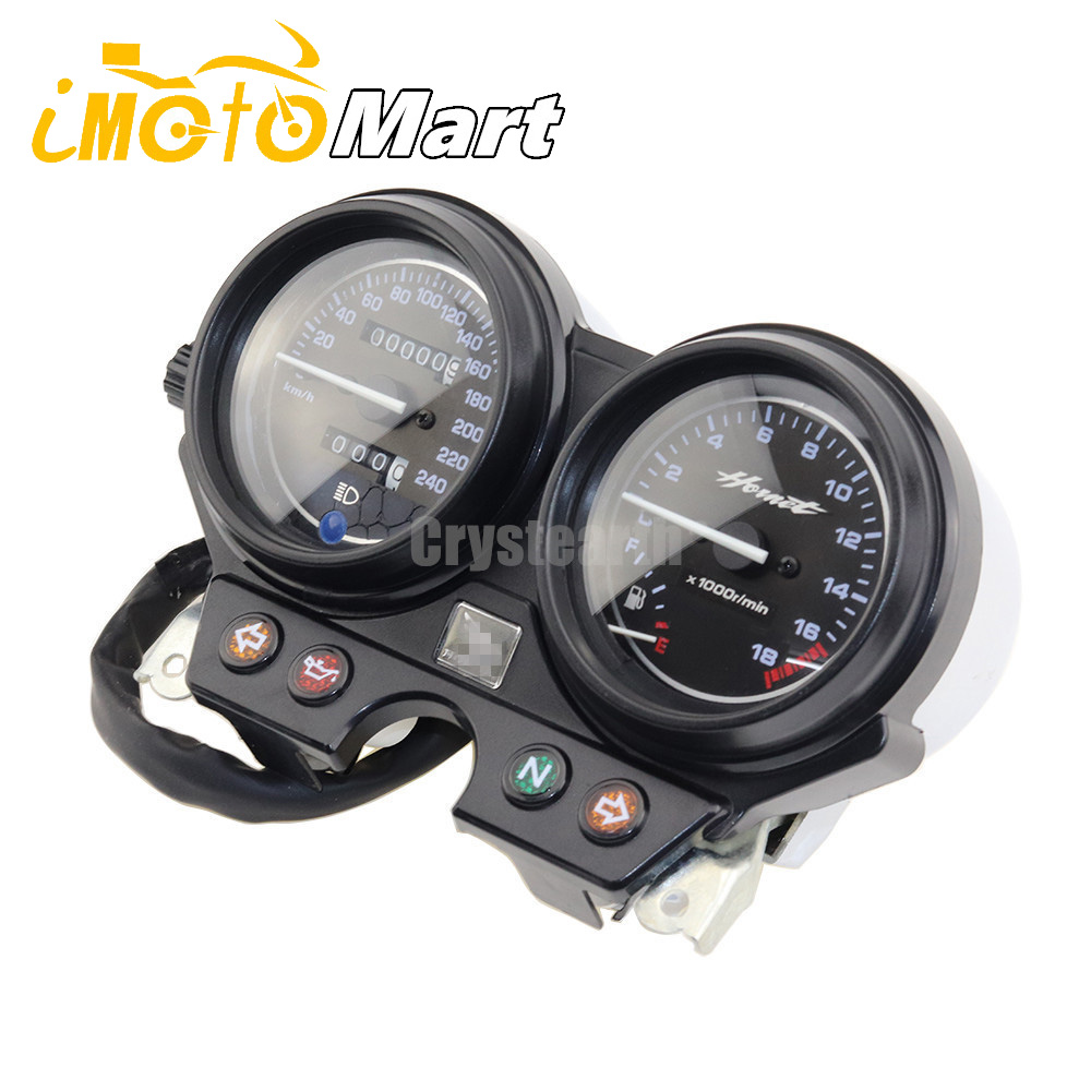Motorcycle Speedo Meter Speedometer Kilometer Odometer Gauge Tachometer Instrument Assembly For Honda Hornet 600 2000 2006