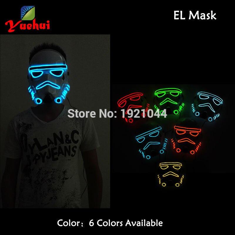 10 colores parpadeantes de moda Tema de película Máscara de - Para fiestas y celebraciones - foto 3