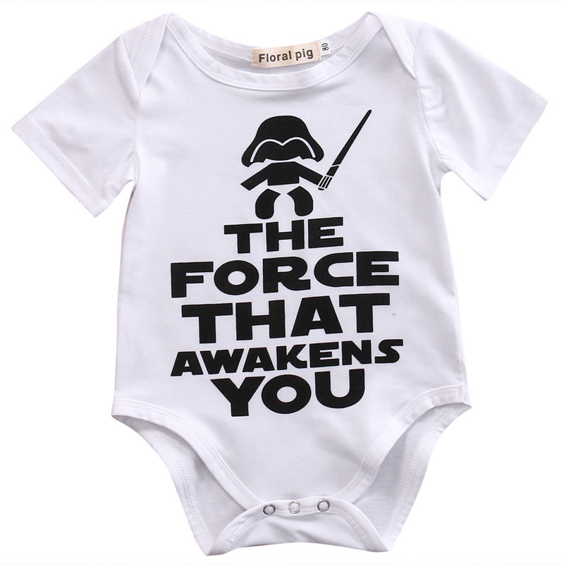Newborn Star Wars Baby Clothes Cotton Romper Playsuit Sunsuit Outfits Infant New Arrival Boys Girls Summer Rompers Costume cotton i must go print newborn infant baby boys clothes summer short sleeve rompers jumpsuit baby romper clothing outfits set