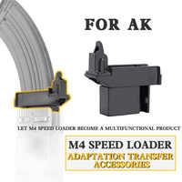 Tactical Airsoft M4 BB Speed Loader Adapter Konverter Anzupassen AK G36 MP5 Magazin für Jagd Military Paintball Zubehör