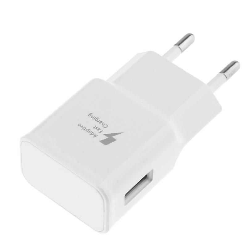 ALLOET Adaptive Fast Charging Wall Charger Power Adapter USB Charger Portable Travel Wall Charger Adapter for Samsung EU Plug