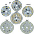 1pcs/lot  3w 5w 7w 9w 12W 15w Driverless PCB spot light 220V led module chip of assembly led Ceiling light