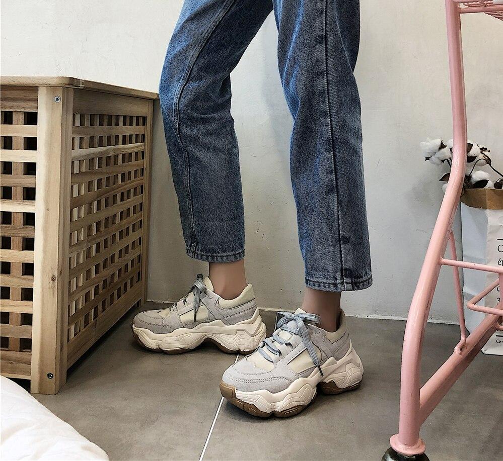 LMCAVASUN/Брендовая женская обувь на плоской подошве; женская повседневная обувь; женские кроссовки; весенне-осенняя женская обувь на шнурках; к...