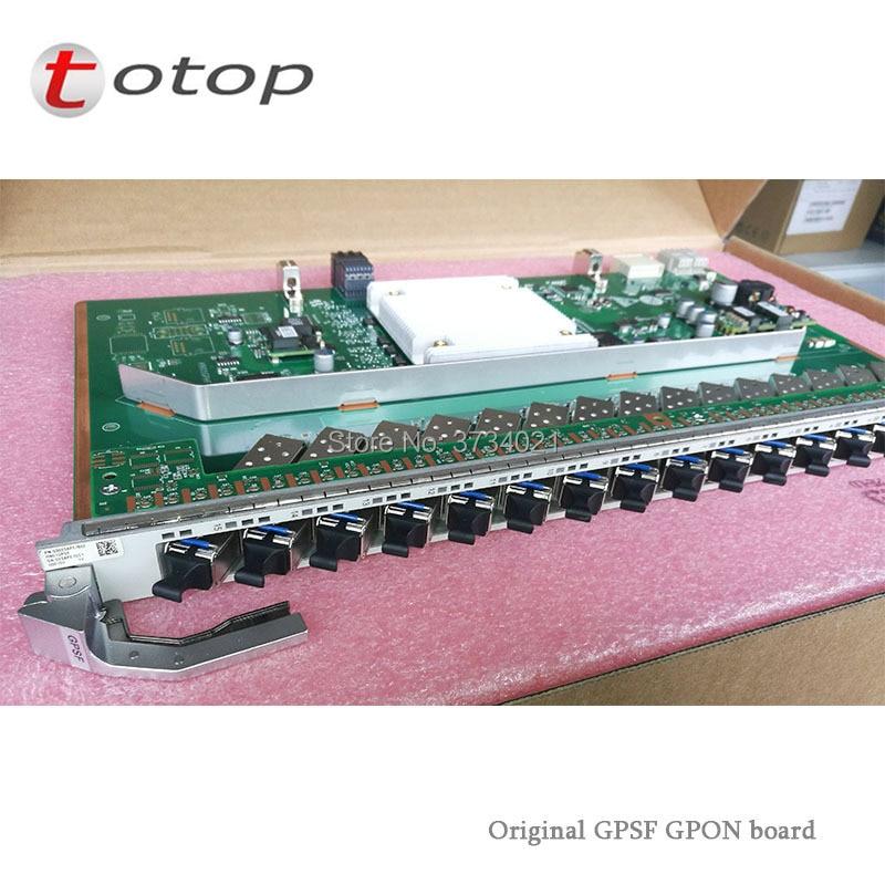 Original Huawei GPON OLT Use Service Board H901GPSF 16 Port GPON OLT Interface Board B+ C+ C++