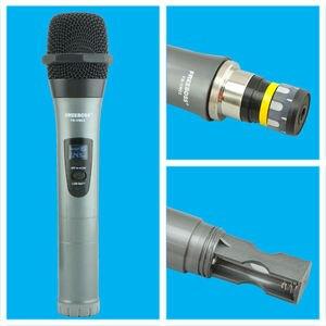 Image 3 - Freeboss FB VM02 Professionelle Mikrofone Dual Kanal Handhelds Metall Shell Mic Karaoke System Familie Party Drahtlose Mikrofon