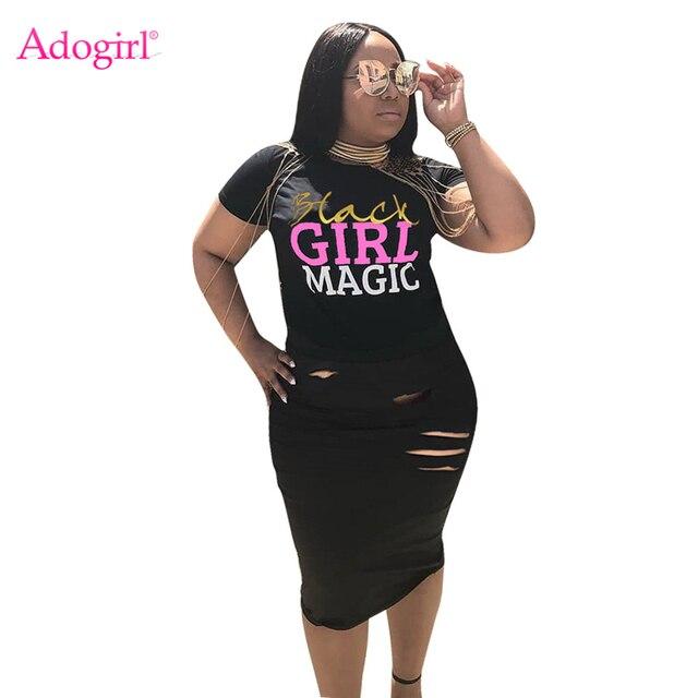 Adogirl Letters Print Women Dress O Neck Short Sleeve Hole Bodycon Midi Casual Summer Dresses Fashion Street Wear Club Wear
