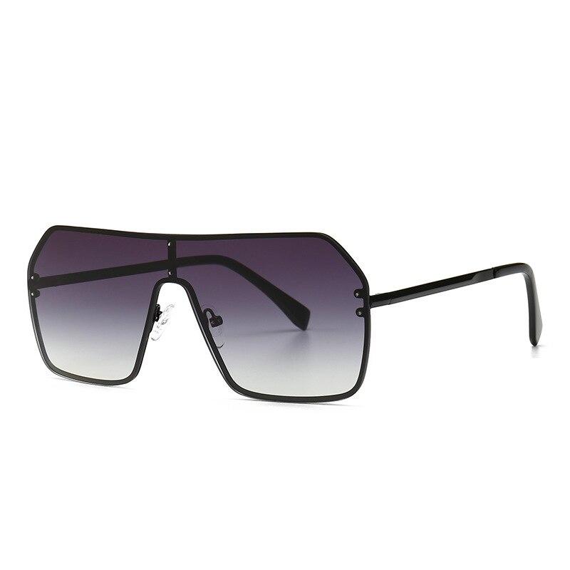 24c7885062 PAWXFB 2019 Retro plana de gafas de sol grande cuadrado marco gafas de sol  carta estilo de verano gris Rosa tonos de verde